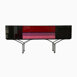 Italian Lacquered Sideboard, 1980s
