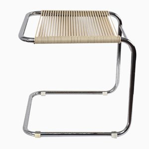 Tubular Chrome Stool by Andre Dupre for Knoll, 1960s