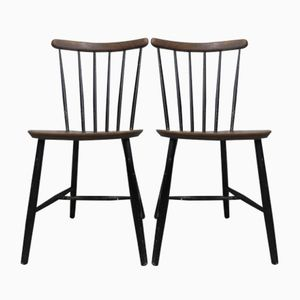 Vintage Bar Chairs, Set of 2