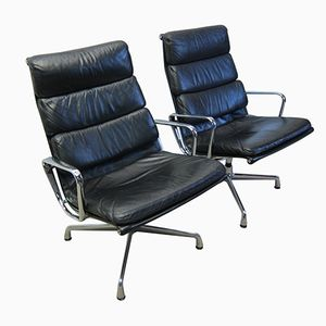 EA216 Lounge Chairs by Charles & Ray Eames for Herman Miller, 1970s, Set of 2