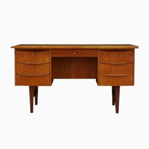 Teak Veneer Writing Desk, 1960s