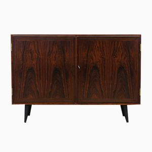 Rosewood Veneer Cabinet from H.C. Møbler, 1960s