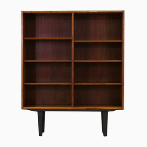 Rosewood Veneer Bookcase by Poul Hundevad for Hundevad & Co., 1960s