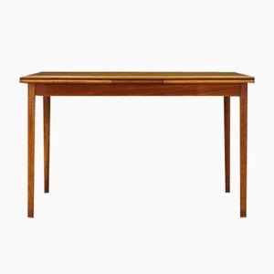 Skandinavischer Vintage Teak Furnier Tisch