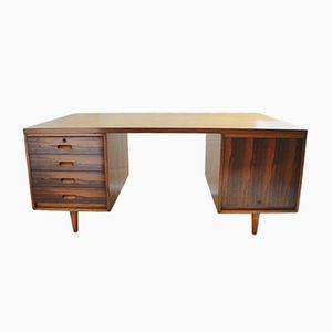 Danish Rosewood & Teak Desk, 1960s