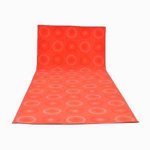 Tappeto rosso di Verner Panton per Mira-X, 1971
