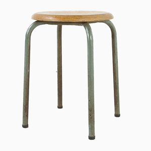 Stool by Jean Prouvé for Ateliers Prouvé, 1950s