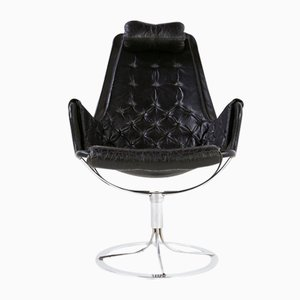 Swedish Jetson Swivel Armchair by Bruno Mathsson for DUX, 1970s