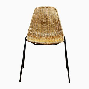 Vintage Basket Chair by Gian Franco Legler