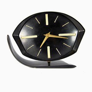 Czechoslovakian Bakelite Clock, 1950s