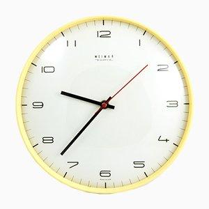Reloj de pared de Weimar, años 70