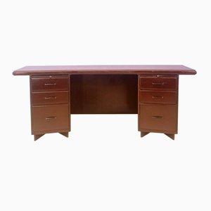 Großer Büro Schreibtisch, 1950er