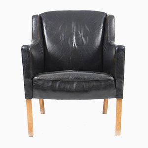 Danish Lounge Chair by Ole Wanscher for A. J. Iversen, 1960s