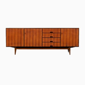 Walnut Veneered Sideboard by Jules Perrenoud, 1960s