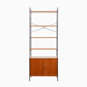 Walnut Shelving Unit from WHB, 1960s