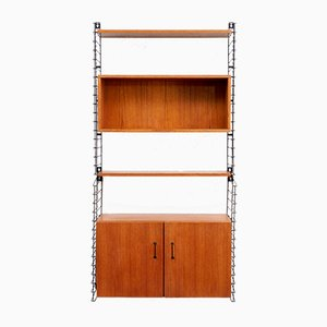 Teak Veneer Wall Unit for Tomado, 1960s