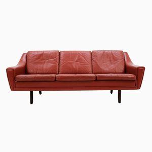 Dänisches Mid-Century 3-Sitzer Sofa aus Palisander, 1960er