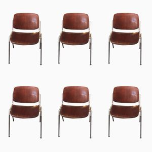 Vintage Chairs from Castelio, Set of 6