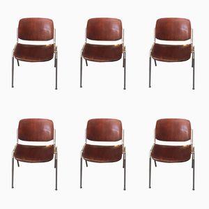 Vintage Stühle von Castelio, 6er Set