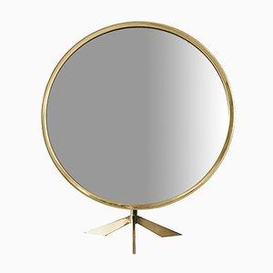Large Mid-Century Table Mirror from Vereinigte Werkstätten, 1950s