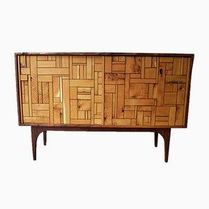 Nussholz und Akazien Sideboard von John Alfredo Harris