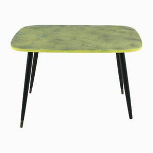 Coffee Table in Black & Yellow, 1950s