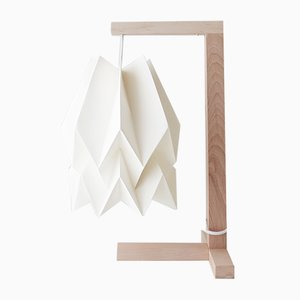 Lampada da tavolo bianca di Orikomi