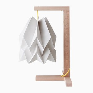Lampe de Bureau Gris Clair par Orikomi