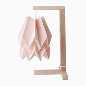 Pastel Pink Table Lamp by Orikomi