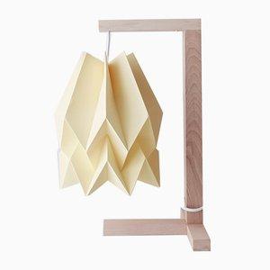 Lampe de Bureau Jaune Pâle par Orikomi