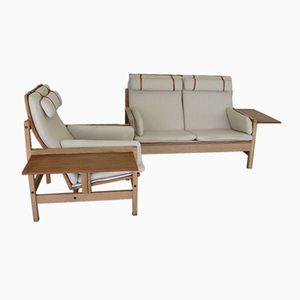 Model 2252 Living Room Set by Borge Mogensen for Fredericia Stolefabrik, 1960s