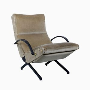 Model P40 Lounge Chair by Osvaldo Borsani for Tecno, 1960s