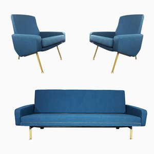 Vintage Troïka Seating Group by Pierre Guariche for Airborne