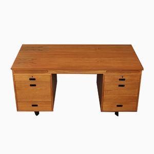 Vintage Teak Executive Desk from Nipu, 1970s