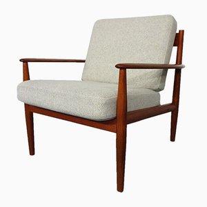 Dänischer moderner Teak Sessel von Grete Jalk für France & Søn, 1960er