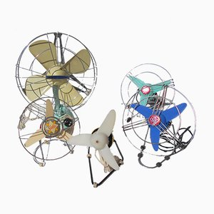 Ventilateurs, Italie, 1960s, Set de 5