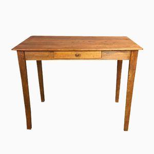Antiker Tannenholz Schreibtisch