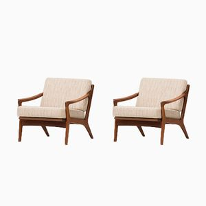Easy Chairs by Arne Wahl Iversen for Komfort, 1960, Set of 2