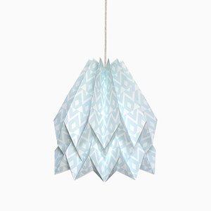Lampe Origami Tupi Bleu Menthe par Orikomi