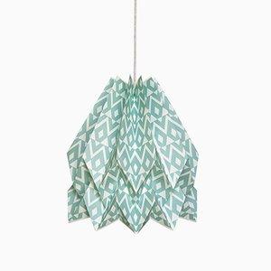 Lámpara Tupi Deep Lagoon de origami de Orikomi