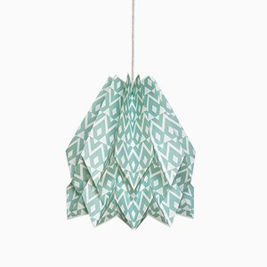 Tupi Deep Lagoon Origami Lamp by Orikomi