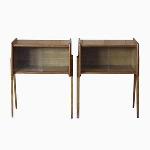 French Bedside Tables, 1960s, Set of 2