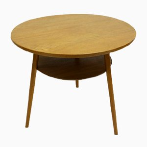 Table Basse Mid-Century Moderne Ronde