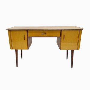 Lackierter Holzfurnier Schreibtisch, 1960er