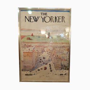 Poster The New Yorker de Steinberg, 1976