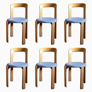 Vintage Chairs by Bruno Rey for Dietiker, Set of 6