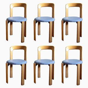 Vintage Stühle von Bruno Rey für Dietiker, 6er Set