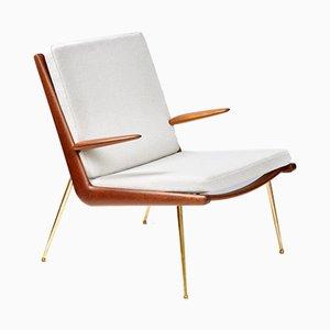 Vintage Boomerang Chair by Peter Hvidt & Orla Molgaard-Nielsen for France & Søn