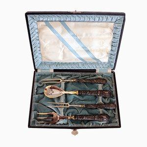 Ensemble de Couverts Hunter Antique dans son Emballage d'Origine