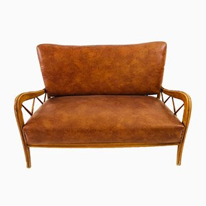 Vintage Italian 2-Seater Sofa by Paolo Buffa, 1950s
